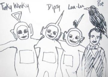 the new fourth teletubie. .. Oh God, somebody photoshop Poe onto Kung Fu Panda.