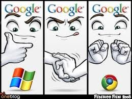 the birth of google chrome. Because Google Chrome is that good.