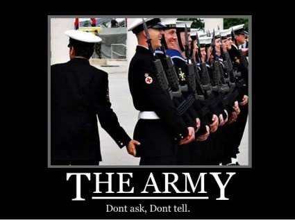 The Army. .. Also that's the Navy, faggots, i'm in the army, none of that is allowed!