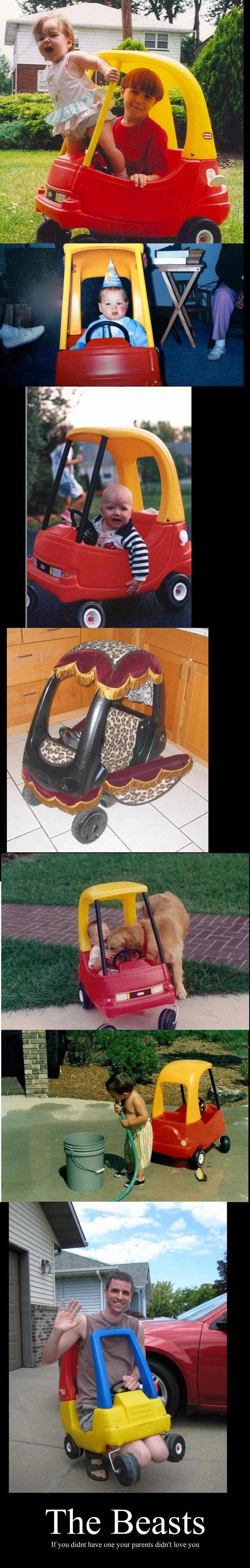 The Beasts. Thumbs up if your parents loved you. The Beasts your mm kart, W. i had a go-kart