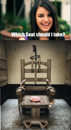 The Best Chair.. AH she is bad :/.