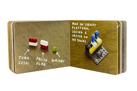the lego book. .