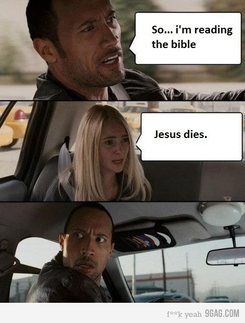 The beeble. Hai.. Sn... i' m reading the bible. the movie was better