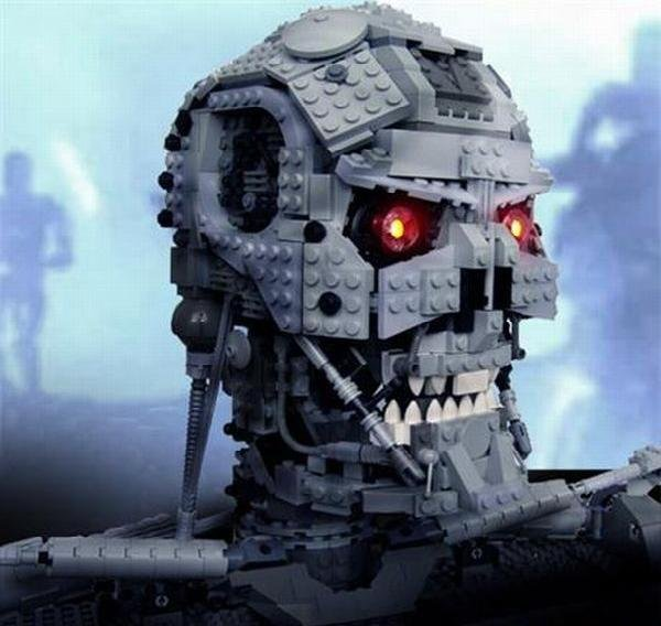The Lego Terminator. Legos are awesome.