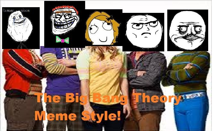 The Big Bang Theory Meme Style!. You sir, win a medal for browsing Latest Posts.