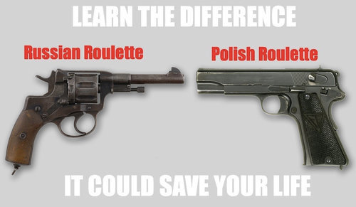 The Difference . . .. ..... It can Save Your Life .<br /> Not sure if its a repost , if so , my bad.. polish here