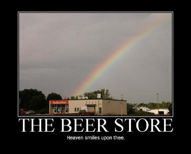 The Beer Store. . OTIE BEER STORE Heaven smiles upon thee.. WooHoo!