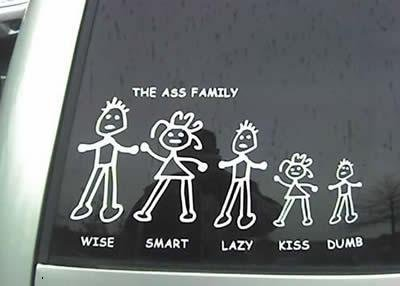 """The Ass Family. Also Check out:<br /> <a href=""""pictures/440723/Step+Ladder/"""" target=blank>www.funnyjunk.com/funnypictures/440723/Step+Ladd"""