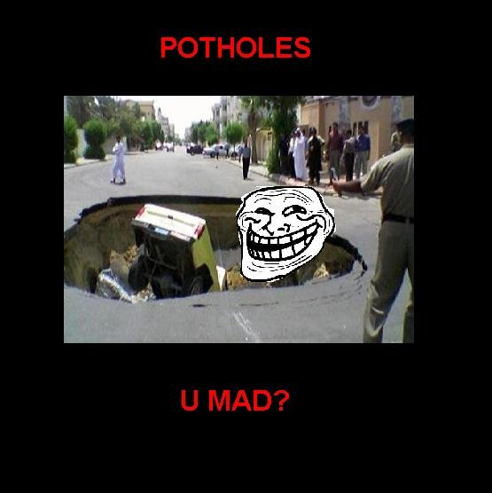 The troll of the road. OC By: BloodyDisgrace.. this makes me laugh