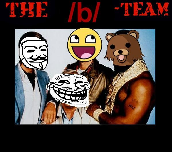 The b Team. Please rate! EDIT: Thanks for getting me to the front page. I will be making more things like this so please subscribe!.. They're coming out with an 'A-Team movie