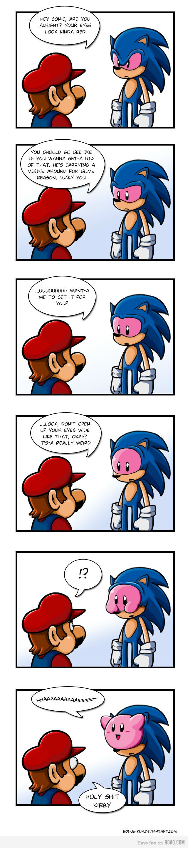 The thruth behind Sonic. Read title. My first upload here (no, that is not a thumb-whoring strategy).. HEY fault; ARE You mun LOOK KINOA RED YOU ISHOULD GO AEE