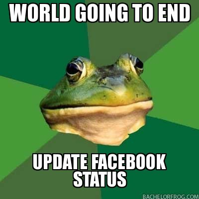 """The truth. . WORLD GOING To END L """"Nclb UPDATE STATUS"""