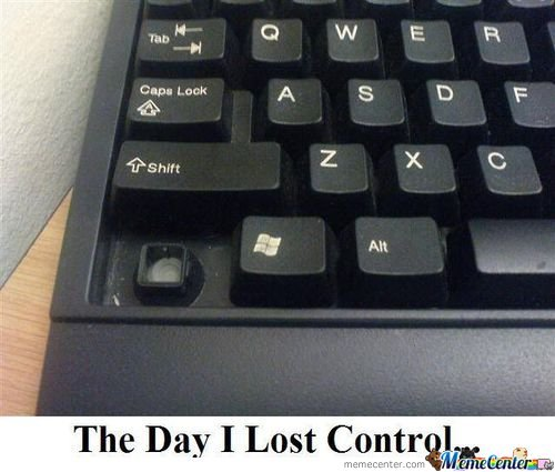 The day i lost control. . The may I Lost , _. I was gonna shoot up the school once. Then I lost control, and shot up the daycare instead.