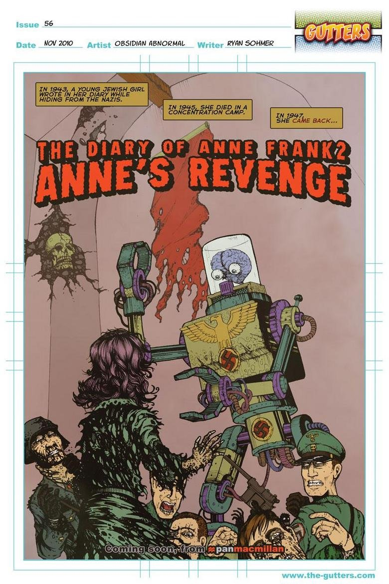 The Diary of Anne Frank 2. Anne's Revenge. From the-gutters.com. Issue W; Jyigtl ,