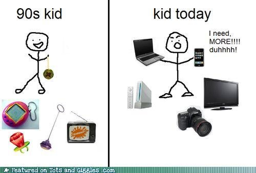 the difference between. the 90's and todays kids. kid today I need, MD Ill! lall h! LT, . an Tats and Ftw. as mun-.. SEGA MegaDrive got me from 1993 all the through 2006. There was no need for anything else.