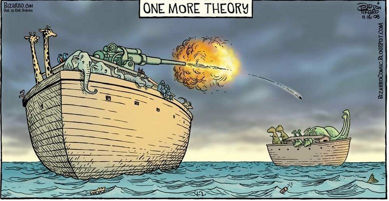 The truth. so this is really how they went extinct. ONE more: THEERE