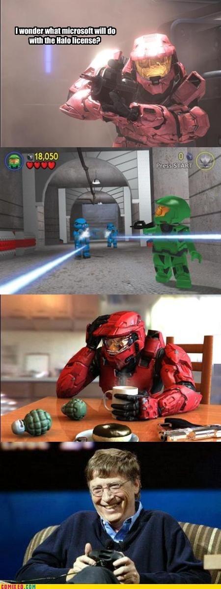 The Future of Halo. . i Hula iigfgg HIE all new an. I'd play it.