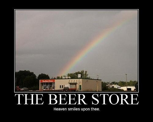 The beer store. go to my profile for more posters. OTIE BEER (STORE Heaven smiles upon thee.