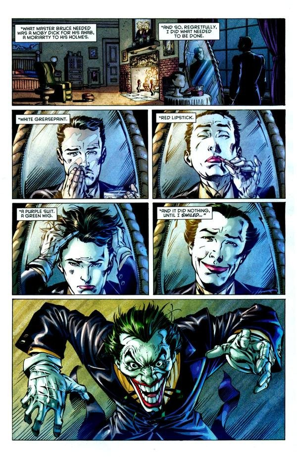 """The Joker.. What if it was true. What if it is.. urt' killah"""". hid. saint. . FWD IT .titti HUT"""" u. well then.....how could Alfred & The Joker be at different places at once,eh?"""