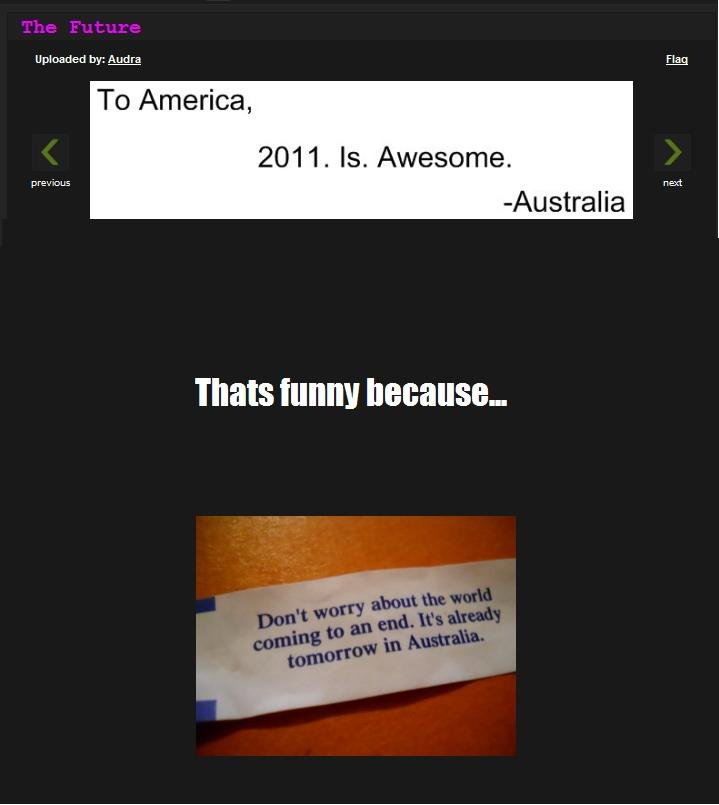 """The near future. I'm just sayin...<br /> The pic: <a href=""""pictures/1442561/The+Future/"""" target=blank>funnyjunk.com/funny_pictures/1442561"""