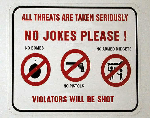 the threat is real!. . All THREATS ARE TAKEN Illa JOKES PLEASE l Will BE SHIN'