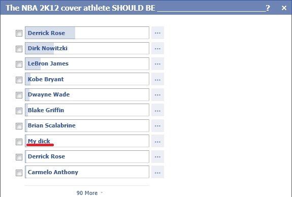 The best athlete. He's got my vote. The NBA cover athlete SHOULD BE Derick Rose Matti Lee lama Kobe Bryant Dwayne Wade Blake Griffin Brian Scab brine Derrick Ru