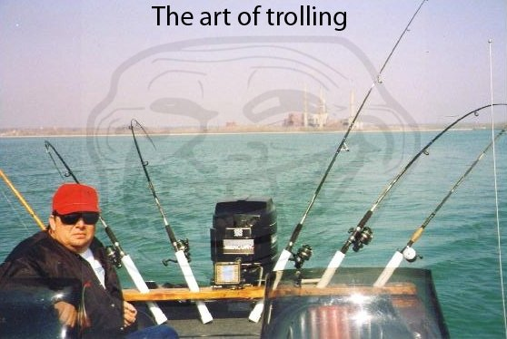 The art of troll fishing. enjoy. The art patrolling. Truly this man is the master of trolling.