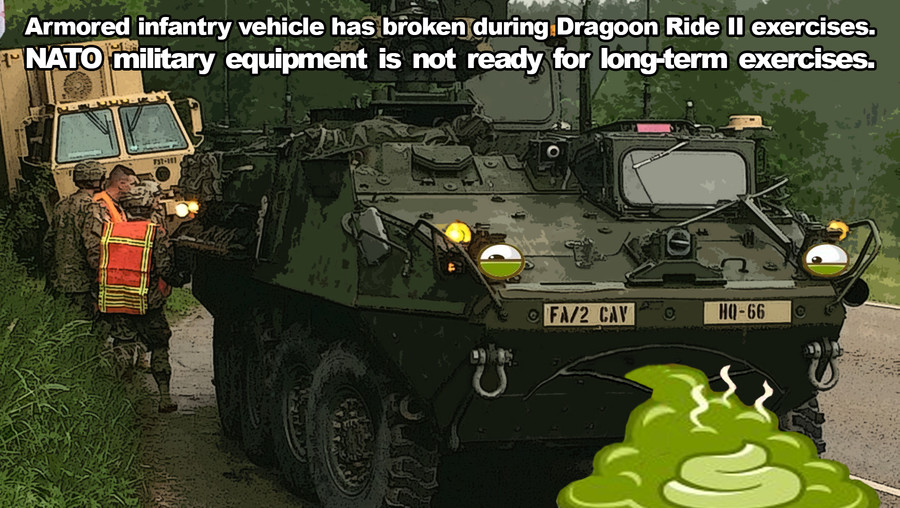 They are not ready. . at Ar l Armored infantry vehicle has broken Ride II exercises. iii' equipment is not ready for longstory exercises.. And the russian T-14 broke down during a parade. Just beacuse one vehicle breaks down dosen't mean all of them are gonna do it. plus they probably push these ve