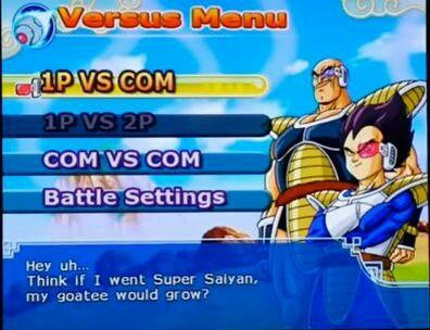 """They went and did it. super saiyan 3 nappa is a reality. can vs can is Battle Settings I r H . . Thinly: If I went Super Sarran. my goatee grow?. """"The mythical super Saiyan! Legend has that one appears every 1000 years!"""" Which is why literally every remaining Saiyan in existence (and some of the"""