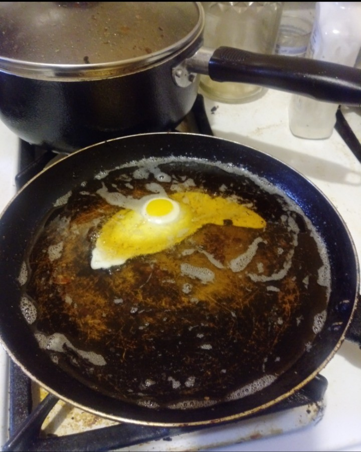 think this too much oil?... join list: EGG (200 subs)Mention Clicks: 6886Msgs Sent: 38915Mention History.. Deep fried egg.... I need to try that. Deep fried bacon is perdy fukkin good.