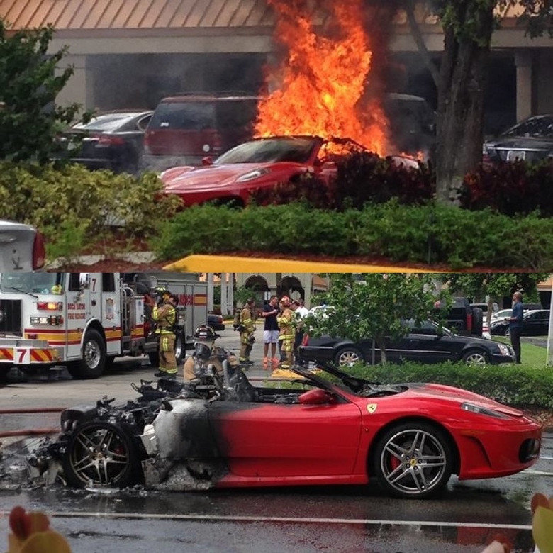 This just happened in front of my store.. .. Damn, those flame strips are getting so realistic!