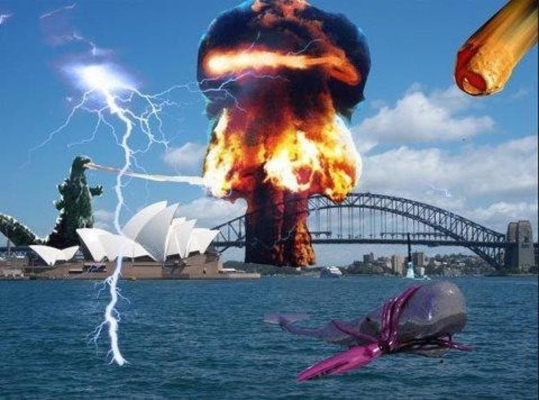 This just in from Sydney.. The wave of apocalyptia is coming towards us... fixed