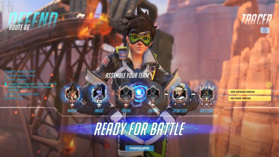 This Just In: Local Man Has No Life. . tgat Bilall 3 , FEW DEFENSE HERE!!! MCI TANK HEEDED. people who go Tracer or Genji on Defence! These ASSHOLES made me lose at least 15 rounds!