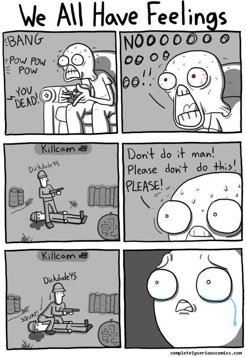 This kills the man.. .