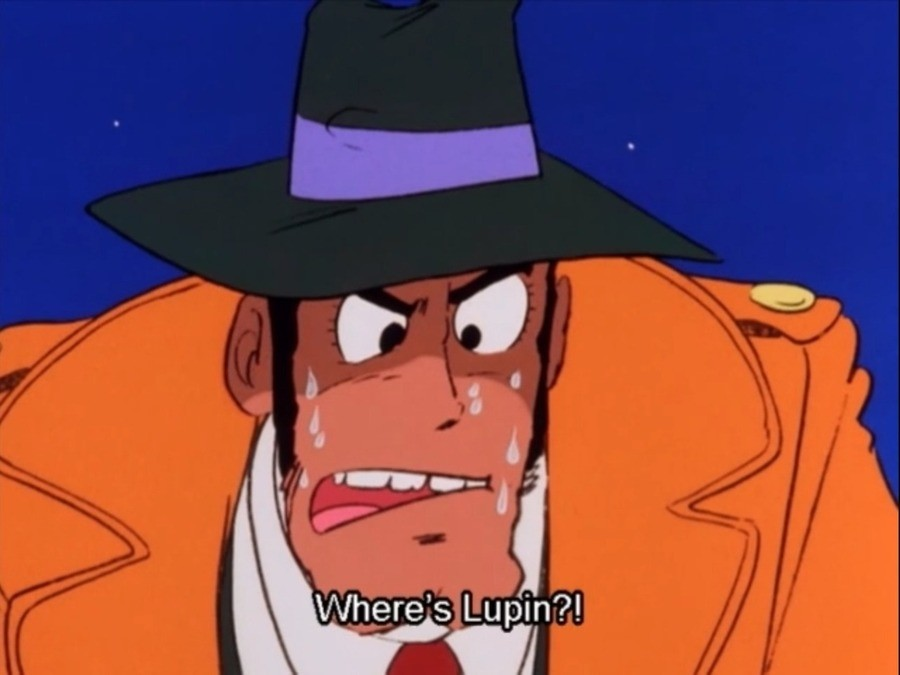 This Lupin Eatin Beans. .. obligatory