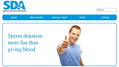 This Motivated Me to Donate. Not OC.. Sperm donation: Ettore fun than giving, blood.. The first one i saw of this kind