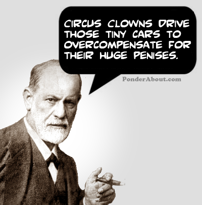 This only enhances. my fear of clowns. CIRCUS CLOTHO ITOI' :' l' U' E THOSE TINY CARS To THEIR HUGE F' ' 5.