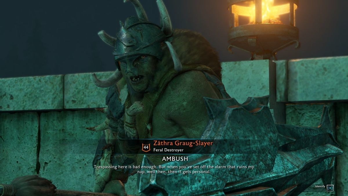This Orc is my spirit animal. .. Playing this since 2 days ago. >dominate karagor (or however the is written) >derping around the coliseum area in Minas Ithil >random orc captain confr