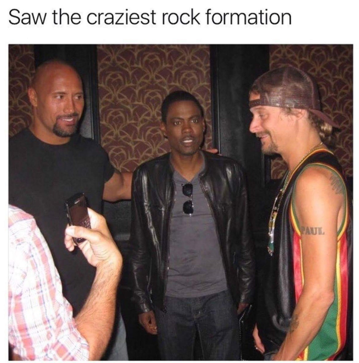 This post rocks. join list: ZanesOldMemes (367 subs)Mention History.. The rock, chris rock and meth rock