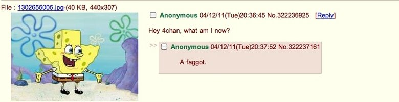 This just made my ht. Faggot. my Julian, what an I ? A faggott.. of coarse they are, theyre using 4chan