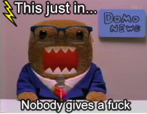 THIS JUST IN!. . iii/. Google Domo meme? Fail. Sorry If you've seen it before.
