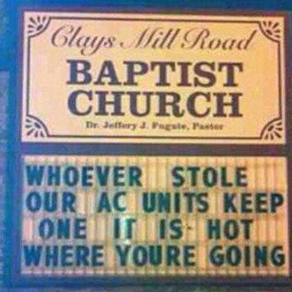 Thou Shall Not Steal. .. OP should get himself an AC unit too, for the same reason. Reposting is a sin too.