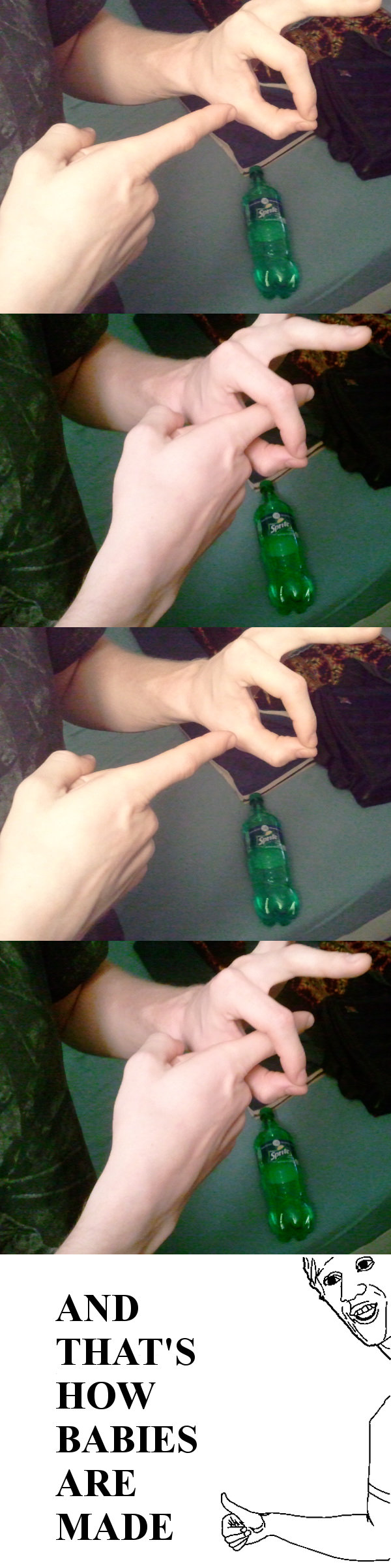 Thought you should know. Thought I would try again with a small change.... I couldn't stop looking at the Sprite-Bottle