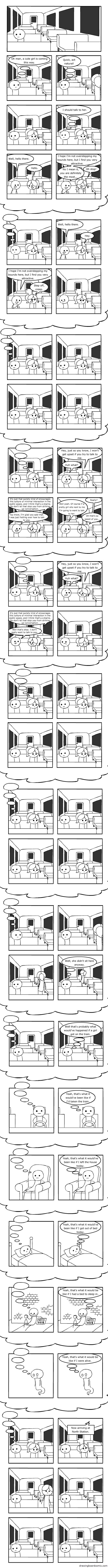 Thought Bubbles. Found this on StumbleUpon and had to share it. Pretty sure I go through this daily.. Gurk, act natural) mane rm not my bounds here, but I mod y