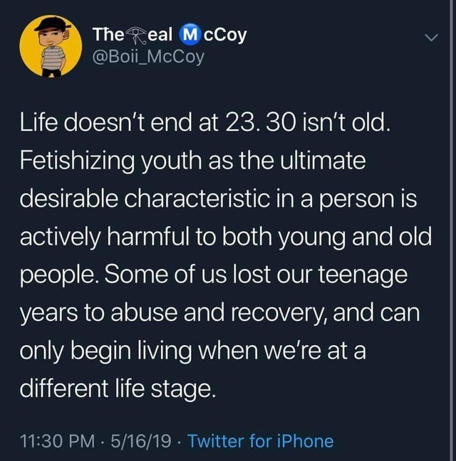thoughtd. .. I spent my childhood as a devout Christian and it lasted until I was maybe 20, and I finished college when I was 21 or 22, so life didn't really even start for