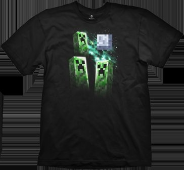 Three Creeper Moon. seen this on the Mojang merch strore. laughed out loud... ... Creepers gonna creep
