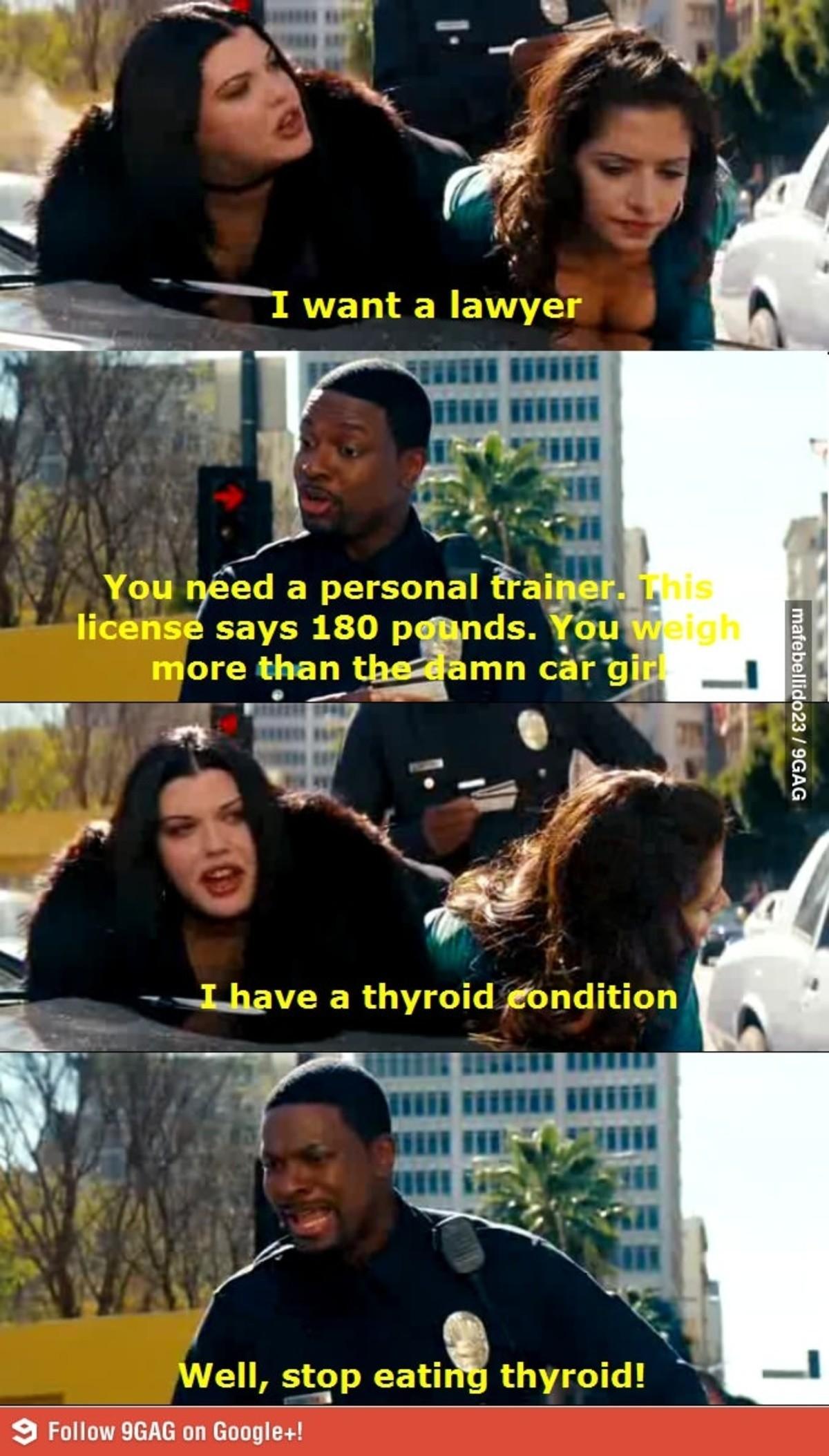 Thyroid Condition. .. >9gag >Google + Ok, nerd