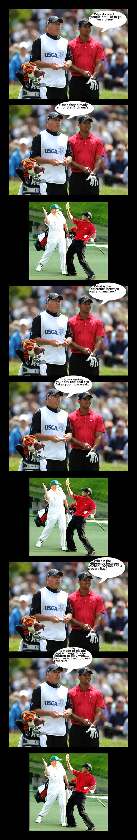 Tiger talks. Ah, if golf were only this interesting to watch.. Ili! i' legiit, isms? y. 4 . arena: tween rat and anal: -21:? ml sex gates but is he i 'iall twee