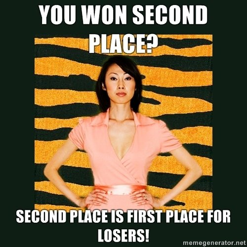 tiger mom. Thumb if you lol'ed. Will WON