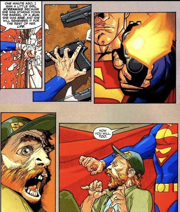 tightfisted clever Wombat. .. Snap, crackle, and that's not what hands should look like. Regardless, I like occasionally-brutal-but-harmless Supes. A good clash with the Upstanding Citizen h